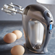 Breville® Chrome 16-Speed Hand Mixer
