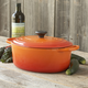 Le Creuset Signature Flame Oval French Oven