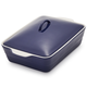Stoneware Casserole with Lid, 4 qt.