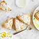 Lemon Scones with Lemon Glaze
