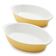 Stoneware Au Gratins, Set of 2