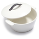 Revol® Revolution White Cocottes with Lids