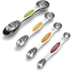 Progressive Stainless Steel Snap-Fit Measuring Spoons, Set of 5