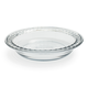 Baked by FireKing Fluted Glass Pie Dish