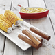 Sur La Table® Rosewood Corn Skewers, Set of 4