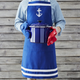 Embroidered Anchor Kitchen Apron