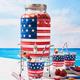Flag Beverage Jar