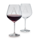 Schott Zwiesel Monogrammed Red Wine Glasses, Set of 2