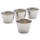 Stainless Steel Sauce Cups, Set of 4