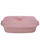 Le Creuset Covered Hibiscus Rectangular Baker