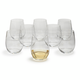 Riedel O Chardonnay Stemless Wine Glasses, Set of 8