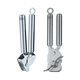 Rösle Garlic Press and Can Opener Set