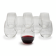Riedel O Merlot Stemless Wine Glasses, Set of 8