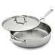 Sur La Table Tri-Ply Stainless Steel Sauté Pan