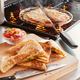 Sur La Table Stainless Steel Quesadilla Grill Basket