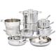 Demeyere Industry5 15-Piece Cookware Set