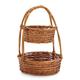 Delano Two-Tier Standing Basket