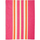 Pink Medium-Striped Kitchen Towel