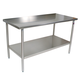 John Boos Cucina Tavalo Food Service Stainless Steel Table