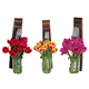 LadyBagsSF Wine Barrel Stave Planter