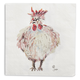 Jacques Pépin Collection Chicken Cocktail Napkins, Set of 20