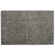 Chilewich Basketweave Floor Mat, Carbon