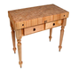 John Boos & Co. Cucina Rustica Table, 48
