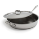 All-Clad Covered Stainless Steel Sauté Pan, 6 qt.