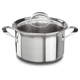KitchenAid® Copper Core Stockpot with Lid, 8 qt.