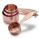 Copper-Plated Measuring Cups, Set of 4