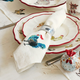 Jacques Pépin Collection Assorted Chickens Linen Napkins, Set of 4