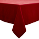 Cranberry Linen Tablecloth, 70
