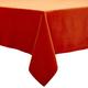 Persimmon Linen Tablecloth