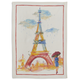 Eiffel Tower Linen Kitchen Towel, 28