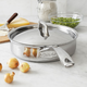 Sur La Table® Tri-Ply Stainless Steel Sauté Pan, 3 qt.