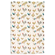 Jacques Pépin Collection Assorted Chickens Kitchen Towel, 28