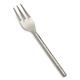 Hammered Silver Appetizer Fork