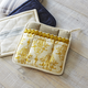 Gold Damask Vintage-Inspired Pot Holder