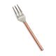 Hammered Copper Appetizer Fork