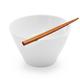 Rice Bowl with Bamboo Chopsticks
