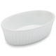 Sur La Table Porcelain Oval Ramekin with Ribbed Sides