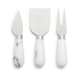 Marble Cheese Knives, Set of 3
