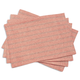 Slub Stripe Placemats, 14