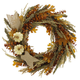 Eucalyptus and Maple Leaf Wreath