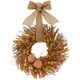 Myrtle and Flax Pumpkin Wreath
