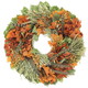 Myrtle, Flax and Maple Wreath