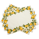 Lemon Placemats, Set of Four