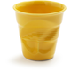 Revol® Cappuccino Crinkle Cup, Seychelles-Yellow