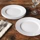 Revol Grands Classiques Alaska Dinner Plates, Set of 4