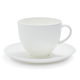 Fortessa Purio Bone China Mug with Saucer